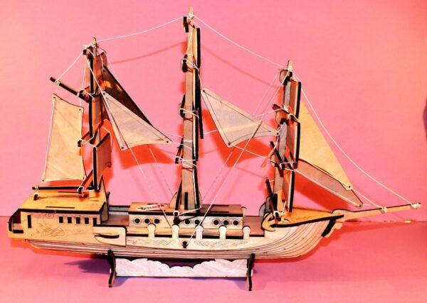 Корабль разукрашка