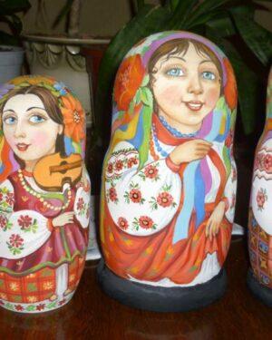 Купить матрешки в Украине