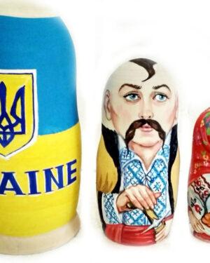 Украинская матрешка на заказ