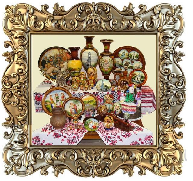 Украинские матрешки и сувениры