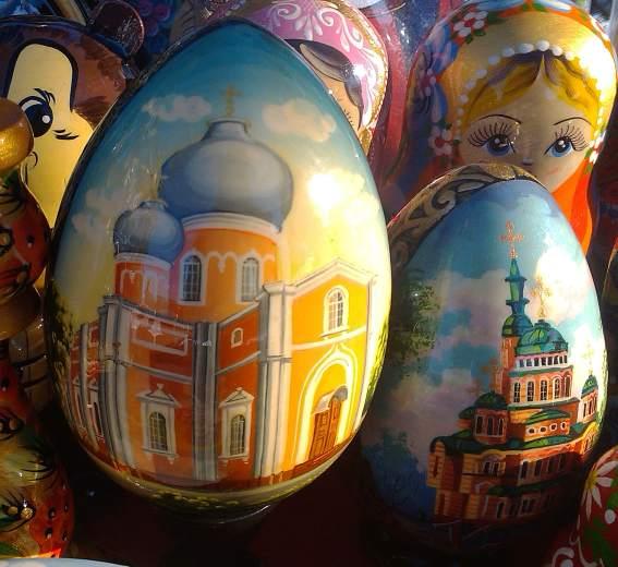 Яйца с видами харькова