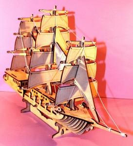 Корабль для разукраски