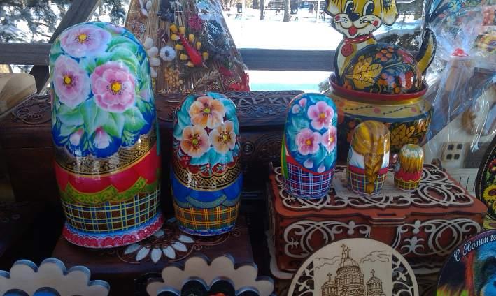 Роспись украиснкой матрешки на заказ