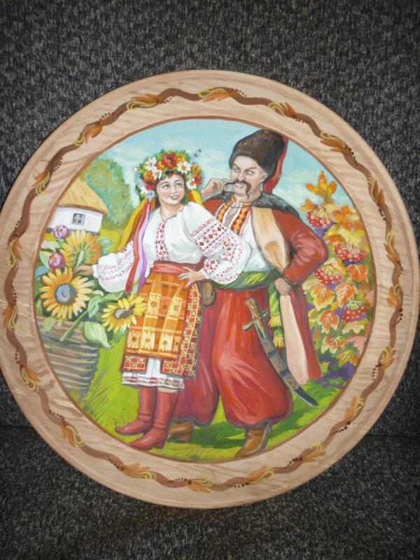 Купить расписную тарелку