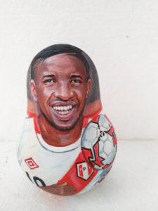 Заказать портрет футболиста Farfan